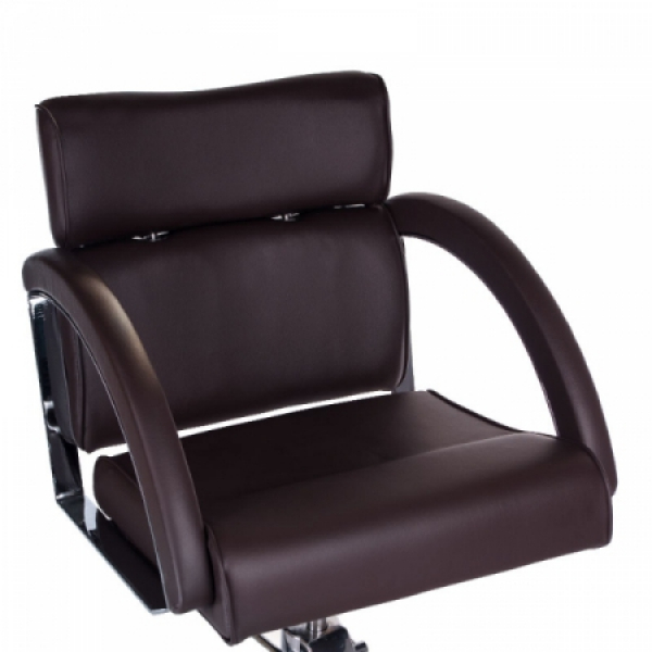 Fotel fryzjerski DINO brązowy BR-3920 #2