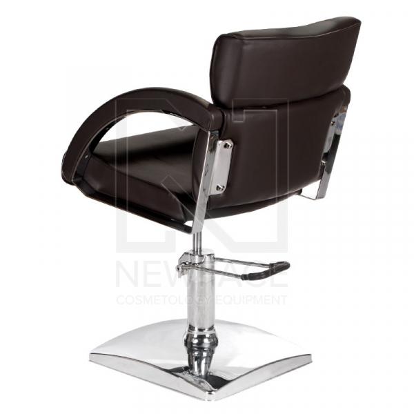 Fotel fryzjerski DINO brązowy BR-3920 #5