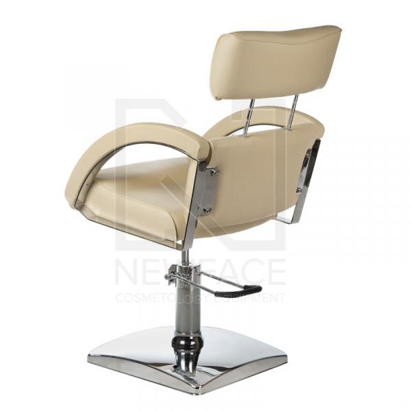 Fotel fryzjerski DINO kremowy BR-3920 #3