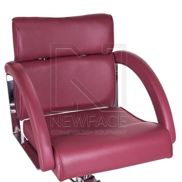 Fotel fryzjerski DINO wrzosowy BR-3920 #2