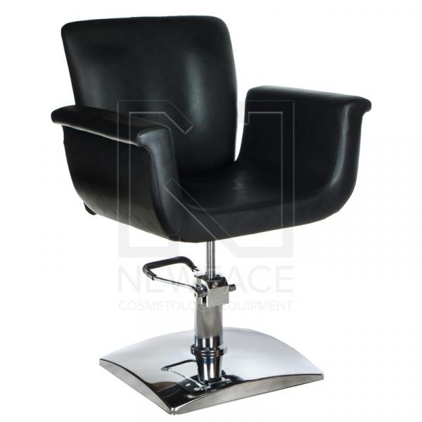 Fotel fryzjerski ELIO czarny BD-1038 #1