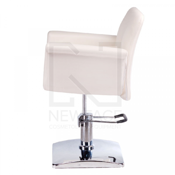 Fotel fryzjerski ELIO kremowy BD-1038 #4
