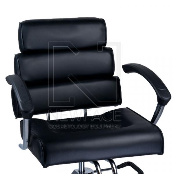 Fotel fryzjerski FIORE czarny BR-3857 #2
