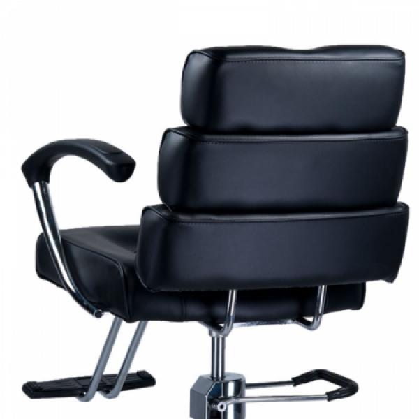 Fotel fryzjerski FIORE czarny BR-3857 #3