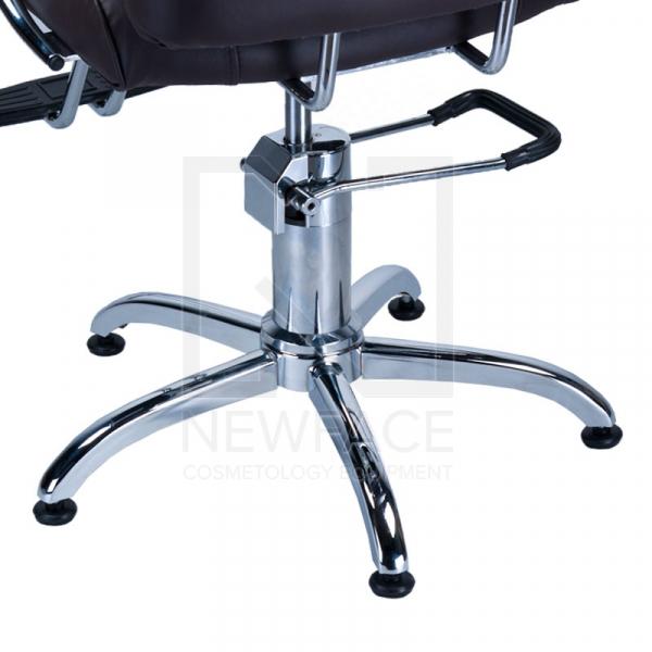 Fotel fryzjerski FIORE czarny BR-3857 #4