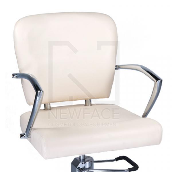 Fotel fryzjerski LIVIO kremowy BD-1003 #2