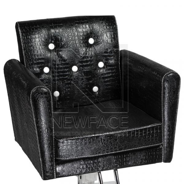 Fotel fryzjerski Lorenzo czarny BM-291 #1