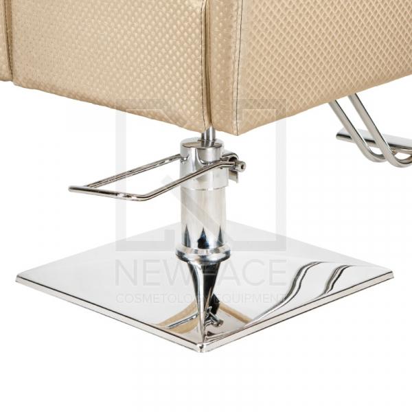 Fotel fryzjerski Lorenzo kremowy BM-291 #2