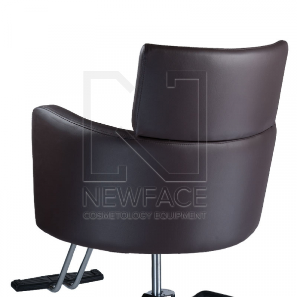 Fotel fryzjerski LUIGI BR-3927 brąz #1