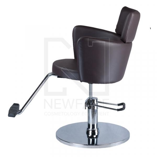 Fotel fryzjerski LUIGI BR-3927 brąz #3