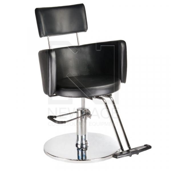 Fotel fryzjerski LUIGI BR-3927 czarny #1