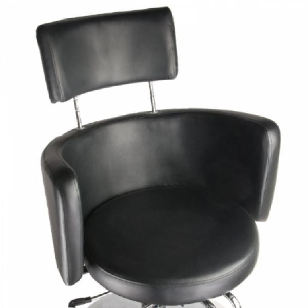 Fotel fryzjerski LUIGI BR-3927 czarny #2