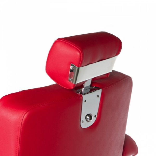 Fotel fryzjerski LUMBER BD-2121 Czerwony #7