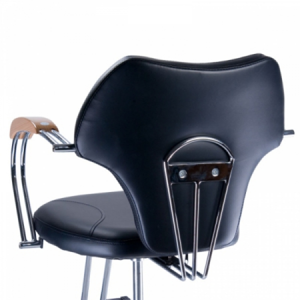 Fotel fryzjerski MARIO BR-3852 czarny #4