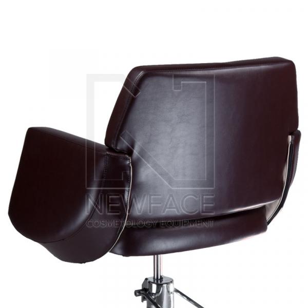 Fotel fryzjerski NICO brązowy-kremowy BD-1088 #3