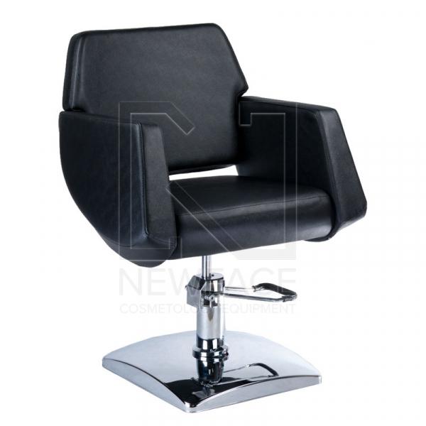 Fotel fryzjerski NICO czarny BD-1088 #1