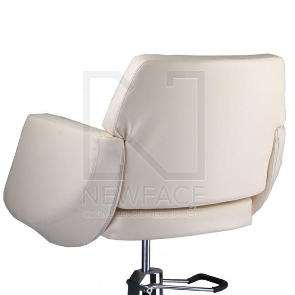 Fotel fryzjerski NICO kremowy BD-1088 #2