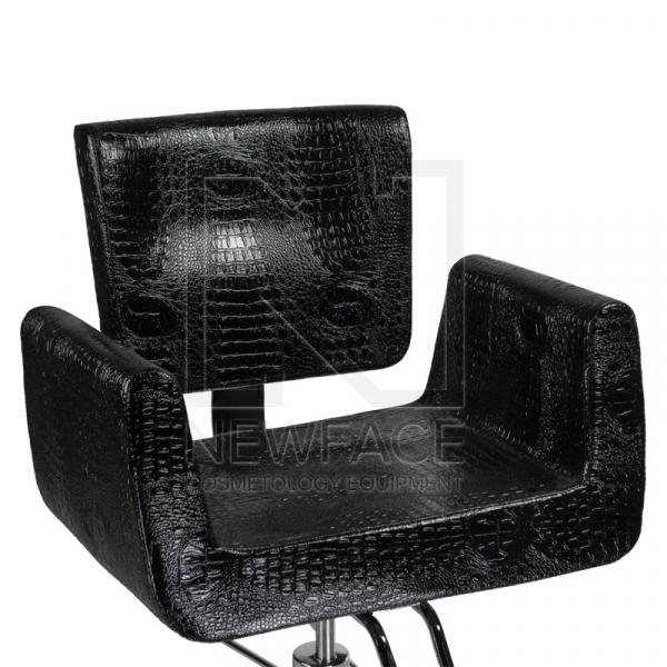 Fotel fryzjerski Vito BM-017 czarny LUX #2