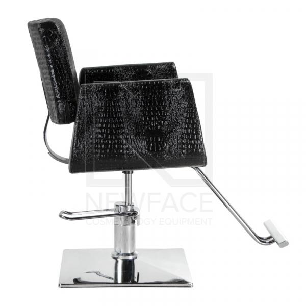 Fotel fryzjerski Vito BM-017 czarny LUX #4