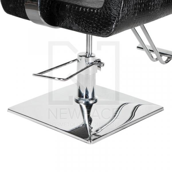 Fotel fryzjerski Vito BM-017 czarny LUX #5