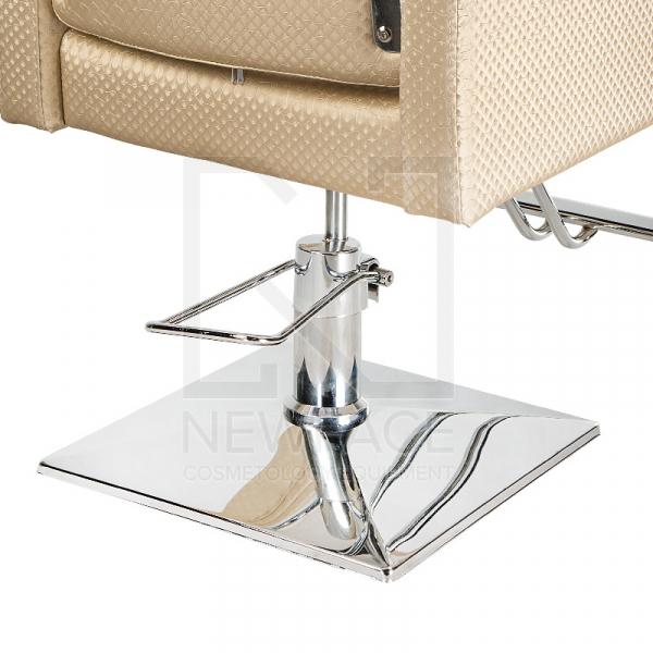 Fotel fryzjerski Simone kremowy BM-204 #5