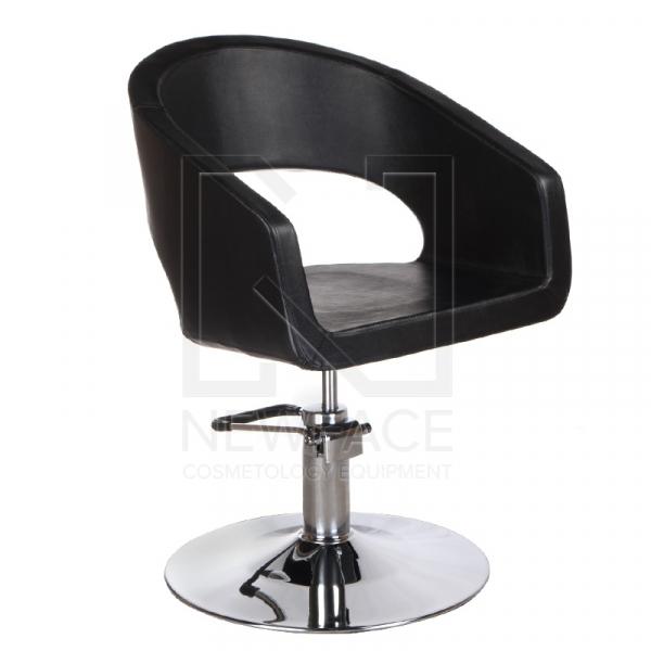 Fotel fryzjerski Paolo BM-002 czarny standard #1