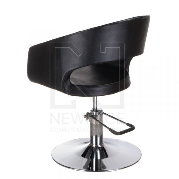 Fotel fryzjerski Paolo BM-002 czarny standard #4