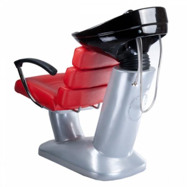 Myjnia fryzjerska FIORE czerwona BR-3530B #4
