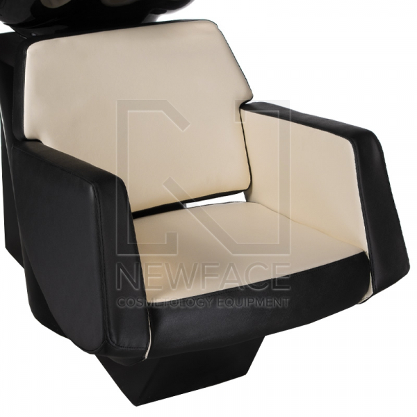 Myjnia fryzjerska NICO czarno-kremowa BD-7821 #1