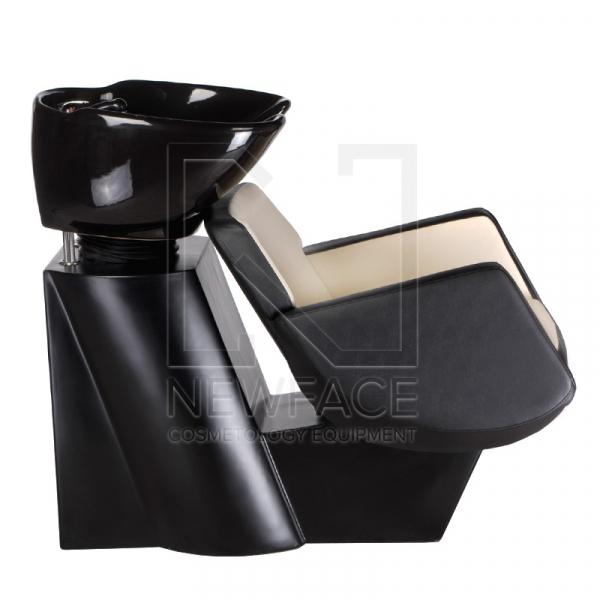 Myjnia fryzjerska NICO czarno-kremowa BD-7821 #2