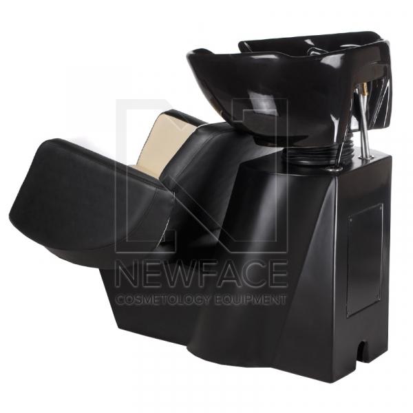 Myjnia fryzjerska NICO czarno-kremowa BD-7821 #3