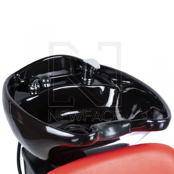 Myjnia fryzjerska LIVIO czerwona BD-7822 #2