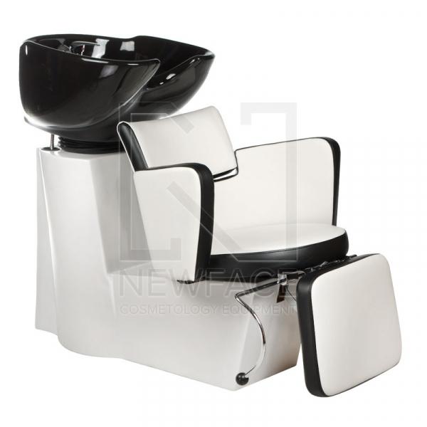 Myjnia fryzjerska LUIGI BR-3542 biało-czarna #1