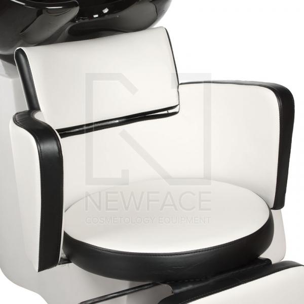 Myjnia fryzjerska LUIGI BR-3542 biało-czarna #2