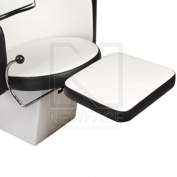 Myjnia fryzjerska LUIGI BR-3542 biało-czarna #3