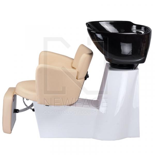 Myjnia fryzjerska LUIGI BR-3542 kremowa #6