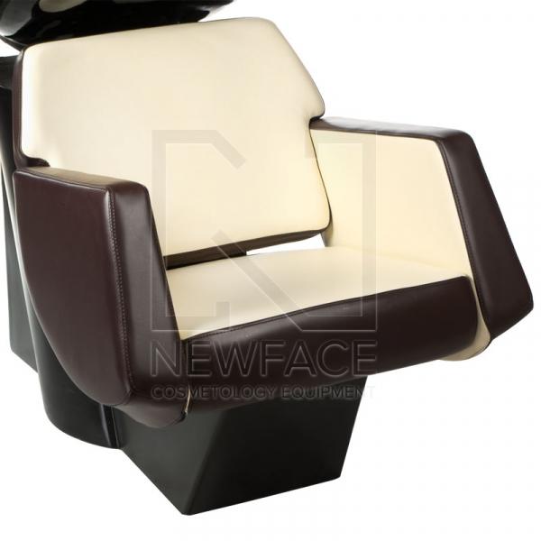 Myjnia fryzjerska NICO brązowo-kremowa BD-7821 #1