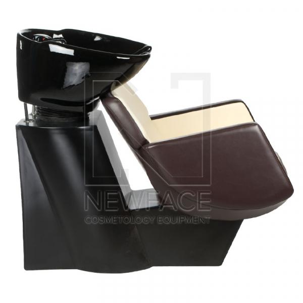 Myjnia fryzjerska NICO brązowo-kremowa BD-7821 #3