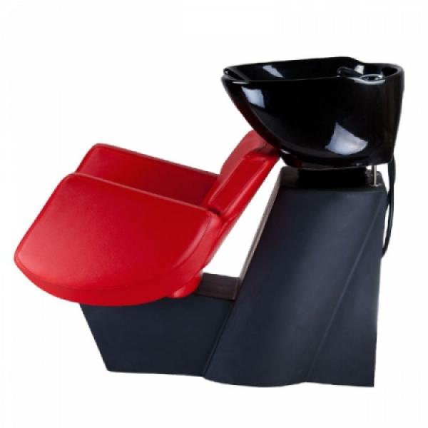 Myjnia fryzjerska NICO czerwona BD-7821 #4