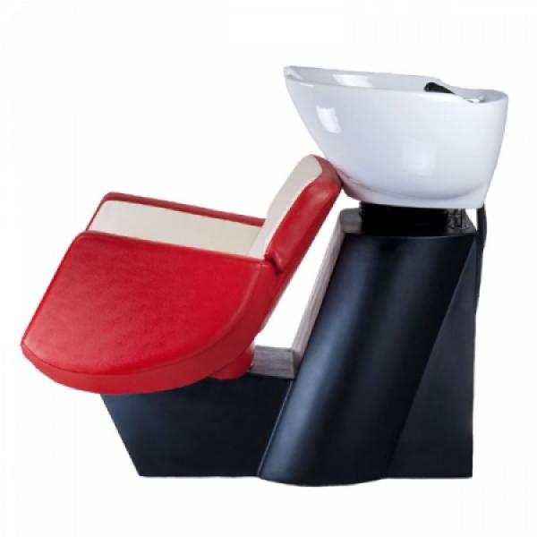 Myjnia fryzjerska NICO czerwono-krememowa BD-7821 #4