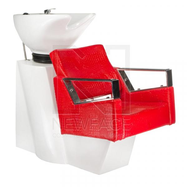 Myjnia fryzjerska Roberto czerwona BM-519 #1