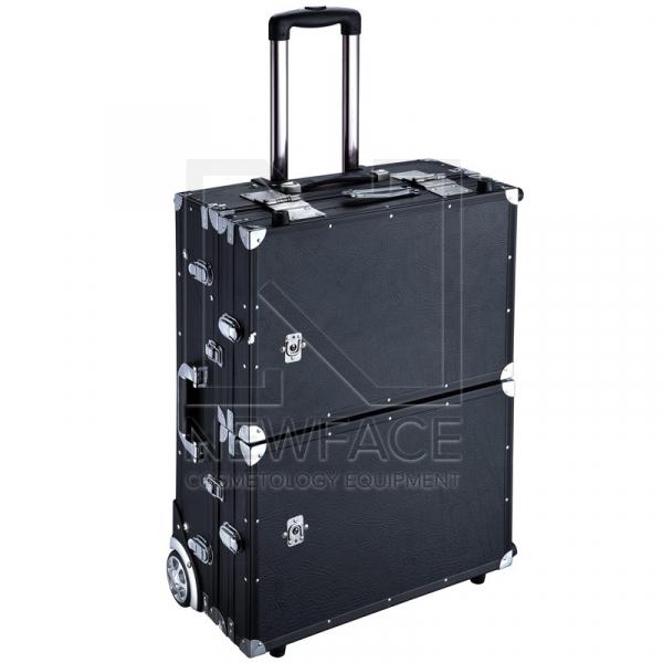 Kufer Kosmetyczny Glamour D-6980k Czarny (Przenośne Stanowisko) #2
