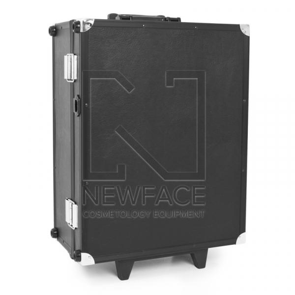 Kufer Kosmetyczny Glamour 9552 Czarny Cube (Przenośne Stanowisko) #2