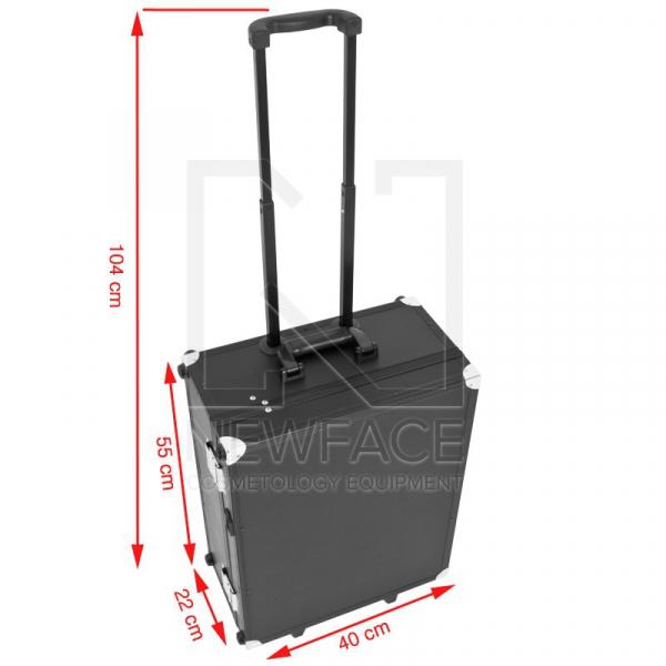 Kufer Kosmetyczny Glamour 9552 Czarny Cube (Przenośne Stanowisko) #4