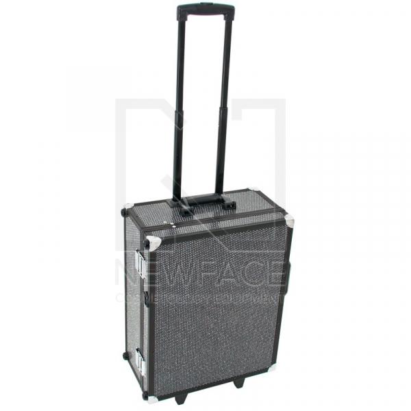 Kufer Kosmetyczny Glamour 9552 Czarny Crystal (Przenośne Stanowisko) #3