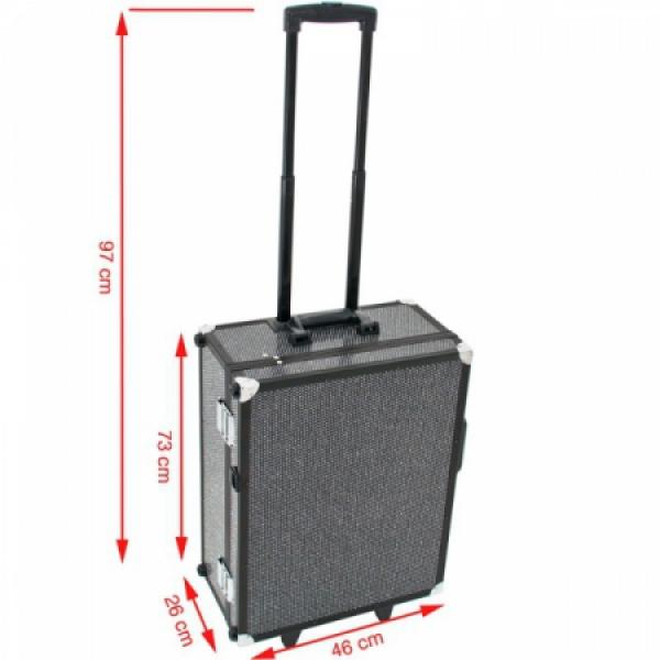 Kufer Kosmetyczny Glamour 9552 Czarny Crystal (Przenośne Stanowisko) #5