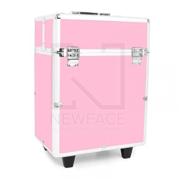 Kufer Kosmetyczny Glamour 9022 Różowy #1