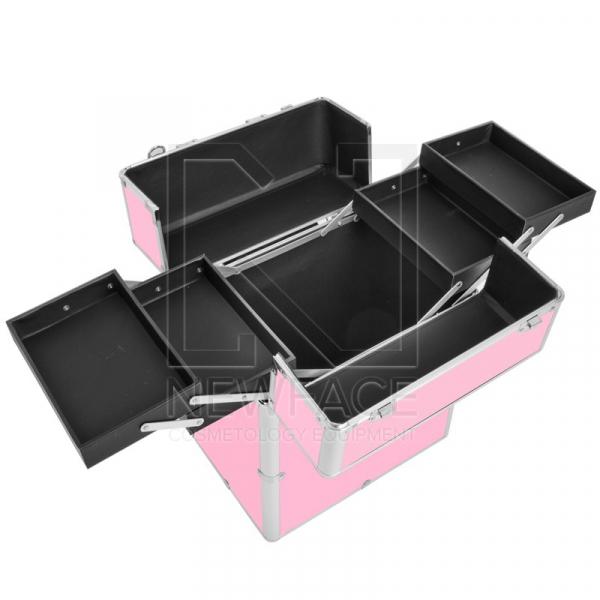 Kufer Kosmetyczny Glamour 9022 Różowy #2