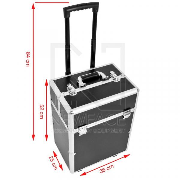 Kufer Kosmetyczny Glamour 9022 Czarny #4