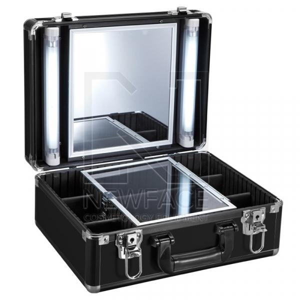 Kufer Kosmetyczny Glamour 9500k Czarny (Przenośne Stanowisko) #1